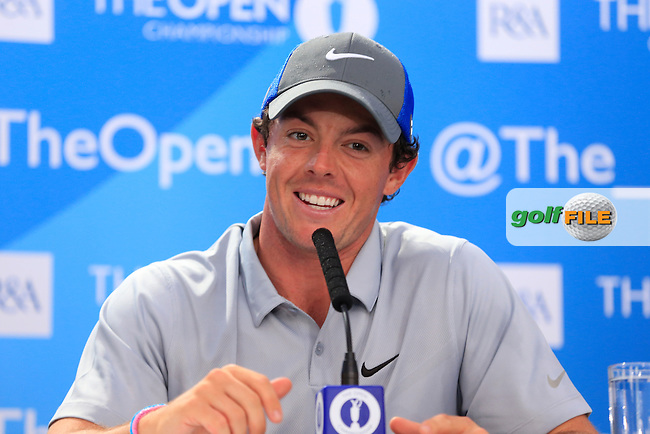 Rory MCILROY (NIR) takes a six shot lead into the final round of The 143rd Open championship Royal Liverpool Golf club, Hoylake, England.: Picture Eoin Clarke www.golffile.ie: 19th July 2014