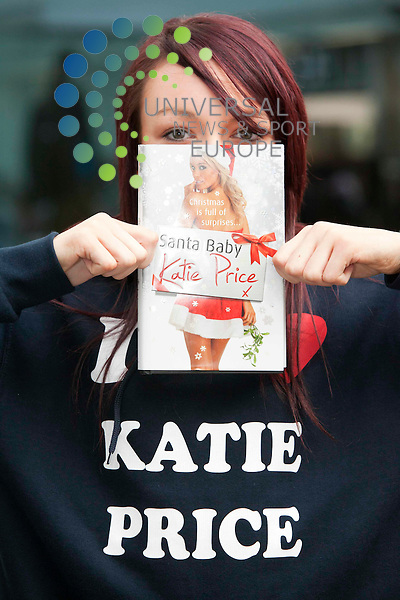 Rhona Brannan (14) Milton. Katie Price The former glamour model signs copies of.her new book Santa Baby, st enochs Glasgow.Picture: Johnny Mclauchlan News and Sport (Europe)26/11/2011