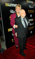 Beverly Hills, California - September 7, 2006.Mickey Rooney and wife arrive at the Los Angeles Premiere of  Hollywoodland held at the Samuel Goldwyn Theater..Photo by Nina Prommer/Milestone Photo