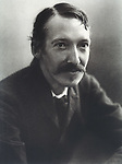 Robert Louis Stevenson (1850 - 1894) The Scottish writer and poet  at the age of 40  <br /> <br /> circa 1990