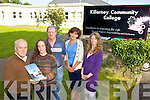 ON COURSE: Announcing details of the new Community Development course to be hosted at Killarney Community College, l-r: Paul O'Raw (South Kerry Development Partnership), Elaine O'Connell (former student), John Keane (Acting Director of Adult Education, KCC), Ann Hickey (Administrator KCC), Brenda Healy (Centre for Adult Continung Education, UCC).