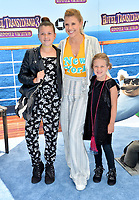 "Jodie Sweetin & Children at the world premiere for ""Hotel Transylvania 3: Summer Vacation"" at the Regency Village Theatre, Los Angeles, USA 30 June 2018<br /> Picture: Paul Smith/Featureflash/SilverHub 0208 004 5359 sales@silverhubmedia.com"
