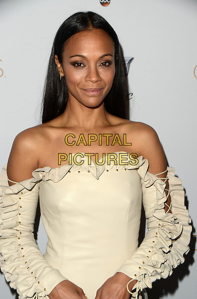 WEST HOLLYWOOD, CA - FEBRUARY 23: Zoe Saldana pictured as Cadillac Celebrates Oscar Week 2017 at Chateau Marmont In West Hollywood, California on February 23, 2017. <br /> CAP/MPI/DE<br /> &copy;DE/MPI/Capital Pictures