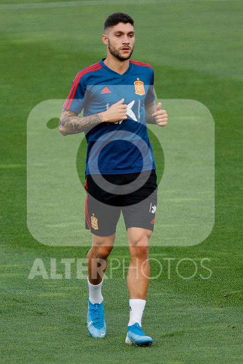 Unai Nunez during the Trainee Session at Ciudad del Futbol in Las Rozas, Spain. September 02, 2019. (ALTERPHOTOS/A. Perez Meca)