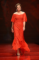 www.acepixs.com<br /> February 9, 2017  New York City<br /> <br /> Lucy Lawless walks the runway at the American Heart Association's Go Red For Women Red Dress Collection 2017 presented by Macy's at Fashion Week at Hammerstein Ballroom on February 9, 2017 in New York City.<br /> <br /> Credit: Kristin Callahan/ACE Pictures<br /> <br /> <br /> Tel: 646 769 0430<br /> Email: info@acepixs.com