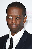 Adrian Lester<br /> in the winners room at the 2016 BAFTA TV Awards, Royal Festival Hall, London<br /> <br /> <br /> &copy;Ash Knotek  D3115 8/05/2016