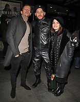 Leo Gregory, Tom Hardy and Charlotte Riley at the &quot;The Ninth Cloud&quot; film screening and Q&amp;A, Prince Charles cinema, Queen Leicester Place, London, England, UK, on Monday 12 February 2018.<br /> CAP/CAN<br /> &copy;CAN/Capital Pictures
