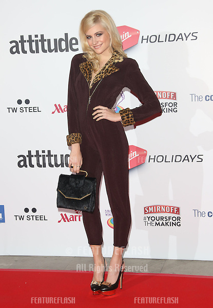 Pixie Lott  at the Attitude Magazine Awards 2013 - Arrivals held at the Royal Courts of Justice, London. 15/10/2013 Picture by: Henry Harris / Featureflash