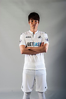 Friday  15 July 2016<br />Pictured: Ki Sung-Yueng of Swansea City<br />Re: Swansea City FC  Joma Kit photographs for the 2016-2017 season