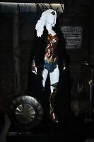 31 July 2017 - Burbank, California - Atmosphere.  Warner Bros. Studio Tour Hollywood Adds Wonder Woman Exhibit to DC Universe: The Exhibit held at Warner Bros. Studios in Burbank. Photo Credit: Birdie Thompson/AdMedia