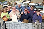 Rathmore Community Council who had a scrap metal collection in Rathmore on Saturday l-r:..Aoife Cronin Patrick Cronin, Diarmuid McCarthy, Diarmuid Desmond, Senator Tom Sheahan, Neil Desmond, Derry McCarthy ........