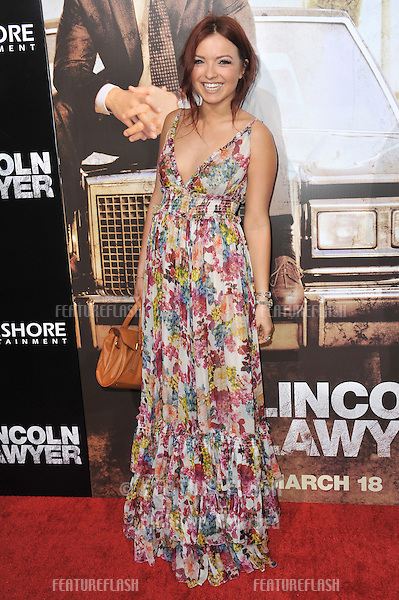 """Francesca Ruth Fisher-Eastwood (daughter of Clint Eastwod & Frances Fisher) at the Los Angeles premiere of """"The Lincoln Lawyer"""" at the Cinerama Dome, Hollywood..March 10, 2011  Los Angeles, CA.Picture: Paul Smith / Featureflash"""