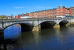 Bridge over River Lee, City of Cork, County Cork, Ireland, Irish Republic