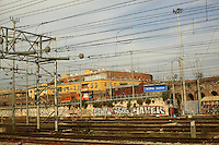 Italy, Rome, November 2, 2011..General view of the Termini train station in Rome November2 , 2011. VIEWpress / Eduardo Munoz Alvarez..Rome is the capital of Italy and the country's largest and most populated city and comune, with over 2.7 million residents in 1,285.3 km2 (496.3 sq mi). The city is located in the central-western portion of the Italian Peninsula, on the Tiber River within the Lazio region of Italy.