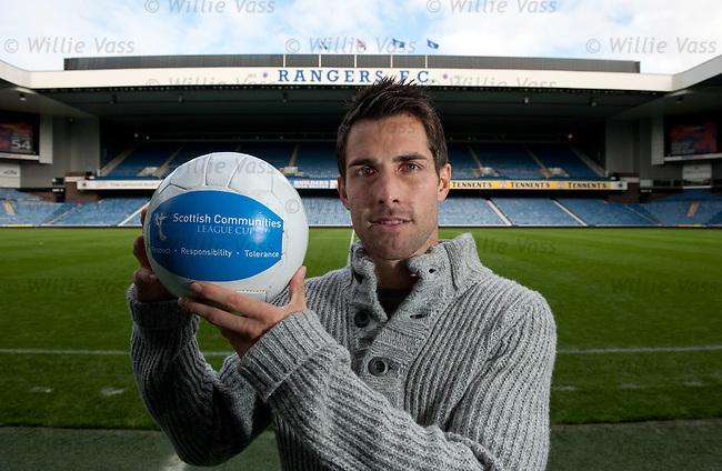 Carlos Bocanegra at the pre-match press conference