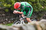 Ben Healy of Ireland in action during the Men's Under 23 Individual Time Trial of the UCI World Championships 2019 running 30.3km from Ripon to Harrogate, England. 24th September 2019.<br /> Picture: Alex Whitehead/SWPix.com | Cyclefile<br /> <br /> All photos usage must carry mandatory copyright credit (© Cyclefile | Alex Whitehead/SWPix.com)