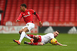 Sheffield United's David Edgar tackles Coventry's Jacob Murphy - Sheffield United vs Coventry City - SkyBet League One - Bramall Lane - Sheffield - 13/12/2015 Pic Philip Oldham/SportImage