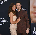 Kevin Jonas, Danielle Jonas 124 arrives at the Premiere Of Amazon Prime Video's Chasing Happiness at Regency Bruin Theatre on June 03, 2019 in Los Angeles, California.