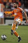 10 November 2007:  Wade Barrett, captain of the Houston Dynamo.  The MLS Houston Dynamo defeated the Kansas City Wizards 2-0 at Robertson Stadium, Houston, Texas to capture the 2007 MLS Western Conference title and to advance to the MLS Cup championship final on Saturday, November 18th.