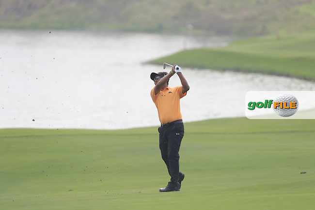 Thongchai Jaidee (THA) on the 9th fairway during the BMW Masters at Lake Malaren Golf Club in Boshan, Shanghai, China on Sunday 15/11/15.<br /> Picture: Thos Caffrey | Golffile<br /> <br /> All photo usage must carry mandatory copyright credit (&copy; Golffile | Thos Caffrey)