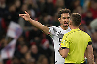 Mats Hummels (Bayern Munich) of Germany during the International Friendly match between England and Germany at Wembley Stadium, London, England on 10 November 2017. Photo by Andy Rowland.