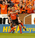 29/07/2006        Copyright Pic: James Stewart.File Name : sct_jspa05_falkirk_v_dundee_utd.BARRY ROBSON IS CONGRATULATED BY STAURT DUFF AFTER HE SCORES DUNDEE UTD'S FIRST.Payments to :.James Stewart Photo Agency 19 Carronlea Drive, Falkirk. FK2 8DN      Vat Reg No. 607 6932 25.Office     : +44 (0)1324 570906     .Mobile   : +44 (0)7721 416997.Fax         : +44 (0)1324 570906.E-mail  :  jim@jspa.co.uk.If you require further information then contact Jim Stewart on any of the numbers above.........