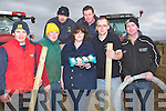 MACRA: Getting their patch ready on Sunday at the Abbeydorney Ploughing Competition were members of the Macra NaFeirme, L-r: Luke Fitzell(kilmoyley), Kevin Leahy (Causeway), Niall Groves (Tralee), Ciara Breen (Beaufort), Niall Flahive (Castlemaine), John Collins (Kilmoyley) and Johnny Lyne (Ballyheigue). ........
