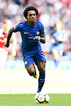 Willian of Chelsea during the The FA Community Shield match at Wembley Stadium, London. Picture date 6th August 2017. Picture credit should read: Charlie Forgham-Bailey/Sportimage