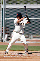 Johnny Monell -San Francisco Giants 2009 Instructional League. .Photo by:  Bill Mitchell/Four Seam Images..