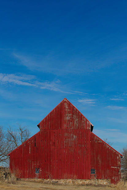 A barn near Dallas Center, Iowa.
