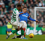 29.12.2019 Celtic v Rangers: James Tavernier and Boli Bolingoli