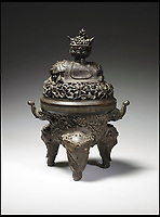 BNPS.co.uk (01202) 558833Pic: CanterburyAuction/BNPS<br /> <br /> One of two Qing Dynasty bronze elephant censer has sold for &pound;12,400.<br /> <br /> A Chinese relic looted from the Summer Palace by a British army officer 158 years ago has sold for more than half a million pounds after it was found in the attic of an unassuming English house.<br /> <br /> The 3,500 year old sacred Chinese bronze water vessel is one of seven known to exist, with five in museums, but Chinese officials said the stolen antiquity should be returned to China.<br /> <br /> The rare item was taken by Captain Harry Lewis Evans when the British and French arrived at the Emperor's Summer Palace in Peking - now Beijing - during the Second Opium War.<br /> <br /> Capt Evans wrote letters home describing the mystical palace and the looting of its treasures that took place in 1860.<br /> <br /> Along with the rare Tiger Ying, three other Chinese bronzes sold which brought the total to &pound;549,320 including premiums.<br /> <br /> China's State Administration of Cultural Heritage is believed to have said it was looking into the auction and opposed the sale and purchase of illegal cultural relics.