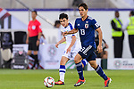 Muto Yoshinori of Japan (R) in action during the AFC Asian Cup UAE 2019 Group F match between Japan (JPN) and Uzbekistan (UZB) at Khalifa Bin Zayed Stadium on 17 January 2019 in Al Ain, United Arab Emirates. Photo by Marcio Rodrigo Machado / Power Sport Images