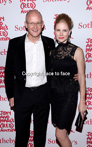 EW YORK, NY - NOVEMBER 23,2013: Charles Gibb and Tamara Gibb pictured at Jony And Marc's (RED) Auction at Sotheby's on November 23, 2013 in New York City<br />