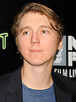 NEW YORK CITY, NY, USA - OCTOBER 04: Paul Dano arrives at the 52nd New York Film Festival - 'Inherent Vice' Centerpiece Gala Presentation & World Premiere held at Alice Tully Hall on October 4, 2014 in New York City, New York, United States. (Photo by Celebrity Monitor)
