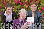 HONOUR: Sr Joan ODonoghue (Clonkeen, Glenflesk) who received an MBE medal for all her charity work in England, pictured with her sisters, Peggy Allen and Annie ODonoghue..