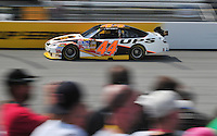 May 2, 2008; Richmond, VA, USA; NASCAR Sprint Cup Series driver David Reutimann during practice for the Dan Lowry 400 at the Richmond International Raceway. Mandatory Credit: Mark J. Rebilas-