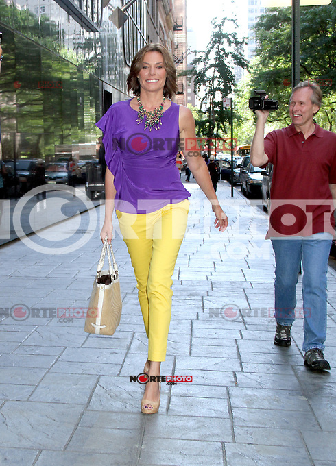 June 01, 2012 LuAnn de Lesseps at Good Day NY to talk about the new season of the Real Housewives in New York City.Credit:© RW/MediaPunch Inc.