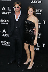 """BRAD PITT, ANGELINA JOLIE. Arrivals to the World Premiere of Sony Pictures' """"Salt"""" at Grauman's Chinese Theatre. Los Angeles, CA, USA. July 19, 2010. CAP/CEL. ©CelPh/Capital Pictures."""