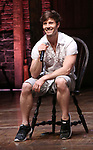 "Thayne Jasperson during a Q & A before The Rockefeller Foundation and The Gilder Lehrman Institute of American History sponsored High School student #eduHam matinee performance of ""Hamilton"" at the Richard Rodgers Theatre on May 9, 2018 in New York City."