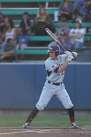 Cory LeBrun (21) of the Gonzaga Bulldogs bats during a game against the Loyola Marymount Lions at Page Stadium on March 27, 2015 in Los Angeles, California. Loyola Marymount defeated Gonzaga 6-5.(Larry Goren/Four Seam Images)