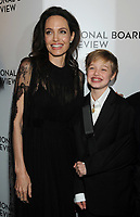 NEW YORK, NY - JANUARY 09: Angelina Jolie, Shiloh Jolie-Pitt,   attends the 2018 National Board Of Review Awards Gala at Cipriani 42nd Street on January 9, 2018 in New York City.  <br /> CAP/MPI/JP<br /> &copy;JP/MPI/Capital Pictures