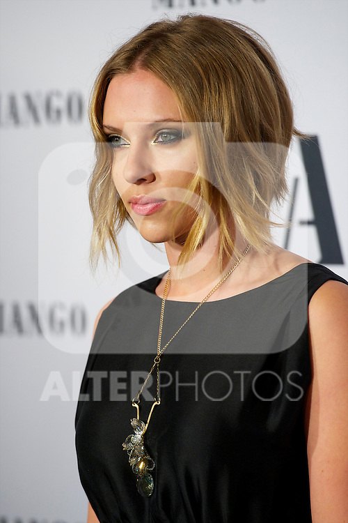 Scarlett Johansson attended  'Mango Fashion Awards' 3rd Edition at Cataluña National Museum of Art in Barcelona.Photo: Billy Chappel / ALFAQUI