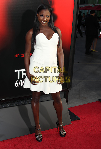 Rutina Wesley<br /> &quot;True Blood&quot; Season 6 Los Angeles Premiere held at The Cinerama Dome, Hollywood, California, USA.<br /> June 11th, 2013<br /> full length white strapless dress black sandals shoes <br /> CAP/ADM/RE<br /> &copy;Russ Elliot/AdMedia/Capital Pictures