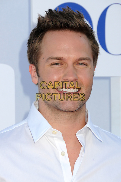 Scott Porter.CBS, CW, Showtime 2012 Summer TCA Party held at The Beverly Hilton Hotel, Beverly Hills, California, USA..July 29th, 2012.headshot portrait white shirt stubble facial hair .CAP/ADM/BP.©Byron Purvis/AdMedia/Capital Pictures.
