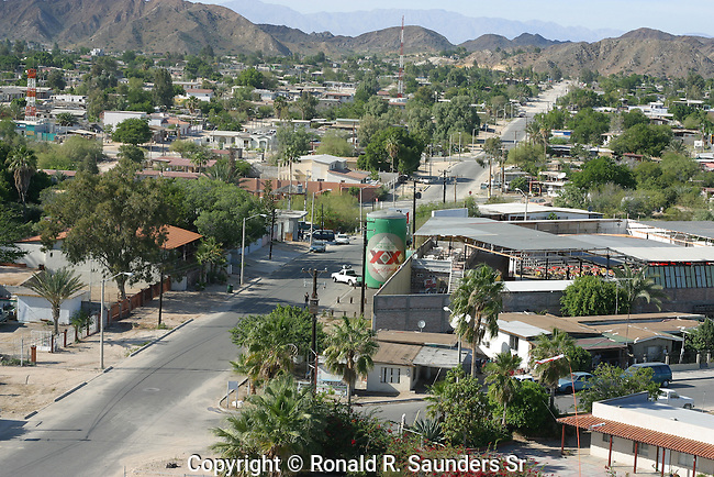 SAN FELIPE MEXICO STREET SCENE