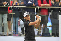 Joakim Lagergren (SWE) on the 1st tee during Round 3 of the UBS Hong Kong Open, at Hong Kong golf club, Fanling, Hong Kong. 25/11/2017<br /> Picture: Golffile | Thos Caffrey<br /> <br /> <br /> All photo usage must carry mandatory copyright credit     (© Golffile | Thos Caffrey)