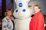 Hannah Kain, CEO ALOM Technologies, Pamela Prince Eason, President & CEO, WBENC, Pillsbury Dough Boy