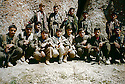 Iran 1999.Kala Resh: New recruits from Iran with three women fighters of PKK  Iran 1999 A Kala Resh, de nouvelles recrues iraniennes avec des combatants du PKK