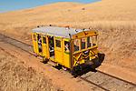 Folsom Railroad Festival and speeder run on the Placerville Branch, Folsom to near Latrobe, El Dorado County.